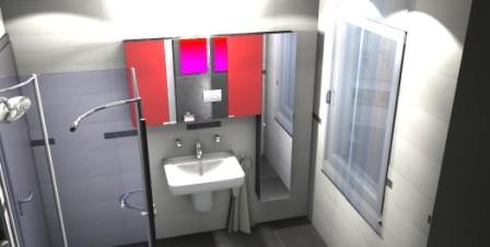 Planung vom 3D Badplaner