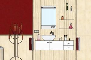 2D Badezimmerplanung