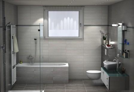 Badideen in 3D. Akzente setzen mit Fliesen