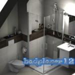 Kleines Bad in 3D geplant